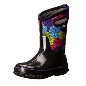 BOGS Girls Classic Rosey Winter Snow Boot